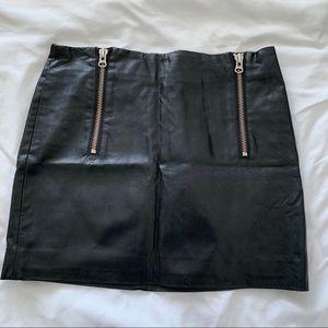 Nasty Gal Leather Skirt
